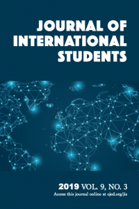 Journal of International Students Volume 9, Issue 3