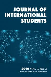 Journal of International Students Volume 9, Issue 3